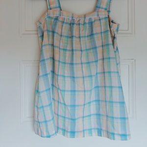 Airy Linen Vintage Babydoll Shirt